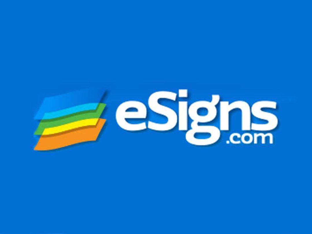 eSigns Discount