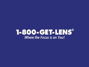 1-800-Get-Lens logo