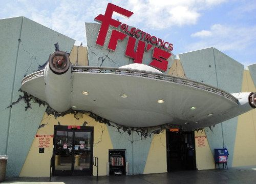 Fry's Storefront