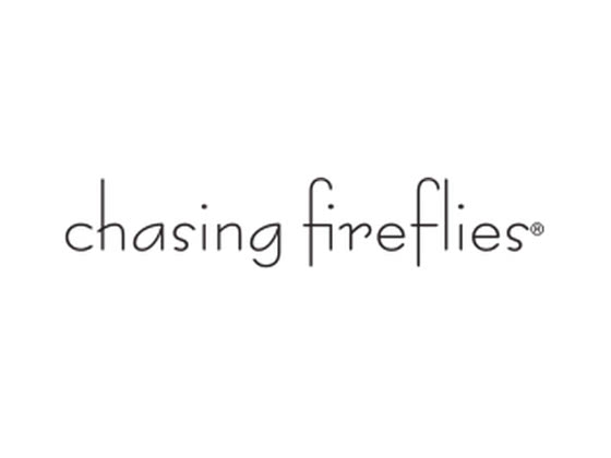 Redeeming Chasing Fireflies Coupon Codes. To enter a coupon code on the Chasing Fireflies website, you must first browse the site, select an item or more, and press the Add to Bag button on the item page. Then, in the upper right-hand corner, you'll see .