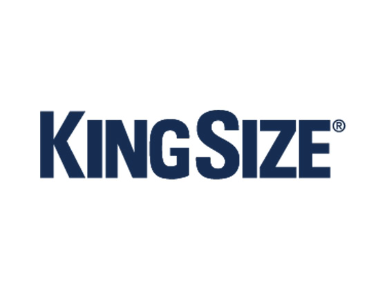 Join King Size Direct's email newsletter and receive 30% off an entire order, as well as free shipping. Enjoy end of the season discounts large as 80%.